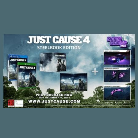 خرید بازی Just Cause 4 Steel Book Edition برای PS4