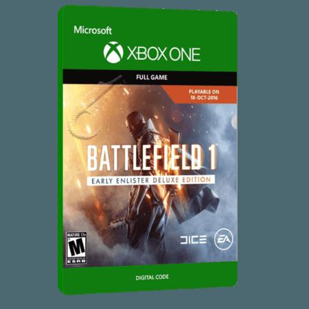 خرید بازی دیجیتال Battlefield 1 Early Enlister Deluxe Edition