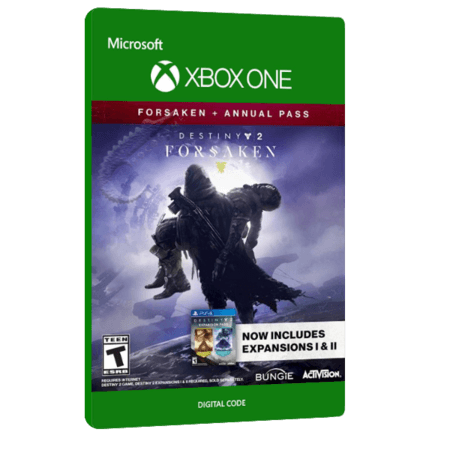 خرید بازی دیجیتال Destiny 2 Forsaken + Annual Pass برای Xbox One