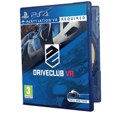 خرید بازی دست دوم و کارکرده Driveclub VR برای PS4