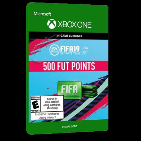 خرید بازی دیجیتال FIFA 19 ULTIMATE TEAM 500 POINTS