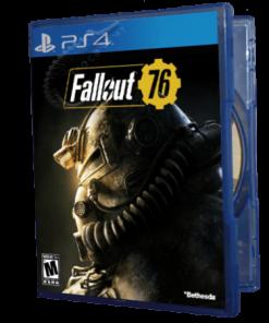 خرید بازی دست دوم و کارکرده FallOut 76 برای PS4