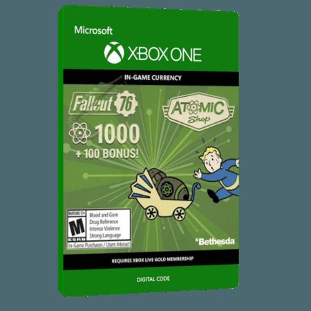 خرید بازی دیجیتال Fallout 76 - 1000 (+100 Bonus) Atoms