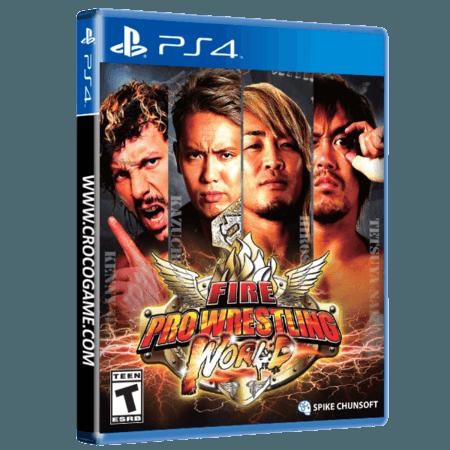 خرید بازی Fire Pro Wrestling World برای PS4