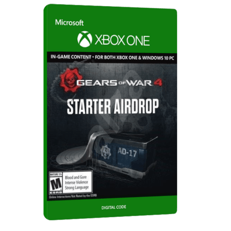 خرید بازی دیجیتال Gears of War 4 Starter Airdrop Xbox Play Anywhere