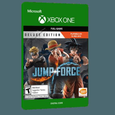خرید بازی دیجیتال Jump Force Deluxe Edition برای Xbox One