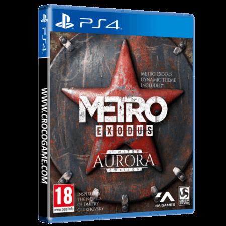 خرید بازی Metro Exodus Limited Aurora Edition برای PS4