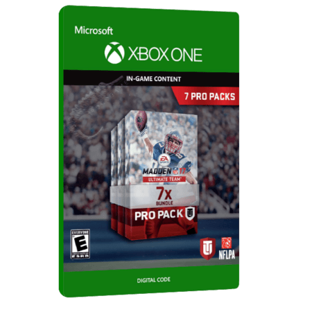 خرید بازی دیجیتال Madden NFL 17 Ultimate Team 7 Pro Packs