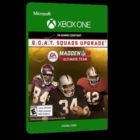 خرید بازی دیجیتال Madden NFL 18 G.O.A.T. Squads Upgrade برای Xbox One