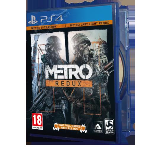 خرید بازی دست دوم و کارکرده Metro Redux برای PS4