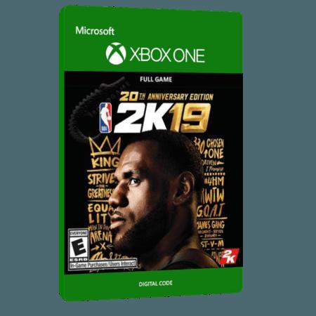 خرید بازی دیجیتال NBA 2K19 20th Anniversary Edition برای Xbox One