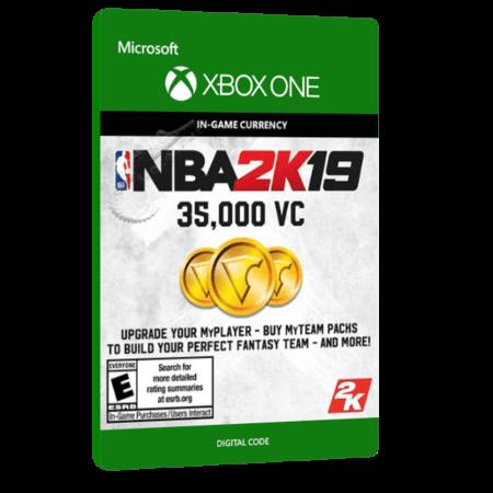 خرید بازی دیجیتال NBA 2K19 35,000 VC برای Xbox One