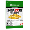 خرید بازی دیجیتال NBA 2K19 450,000 VC برای Xbox One