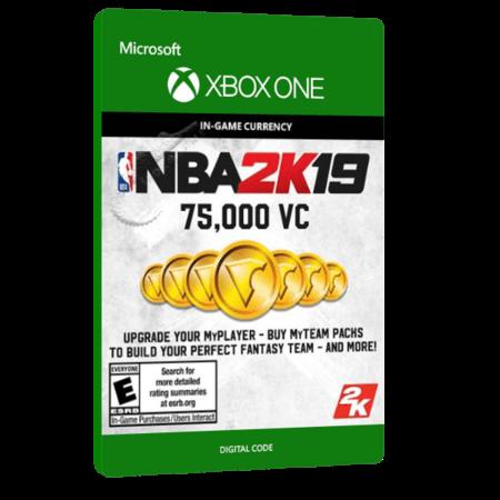 خرید بازی دیجیتال NBA 2K19 75,000 VC برای Xbox One