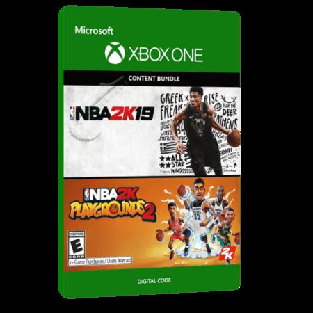 خرید بازی دیجیتال NBA 2K19 + NBA 2K PLAYGROUNDS 2 BUNDLE