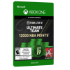 خرید بازی دیجیتال NBA LIVE 19 Ultimate Team 12,000 NBA Points برای Xbox One