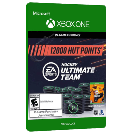 خرید بازی دیجیتال NHL 19 Hockey Ultimate Team 12,000 HUT Points برای Xbox One