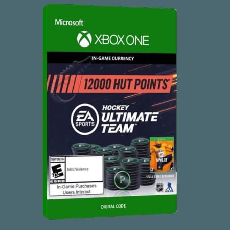 خرید بازی دیجیتال NHL 19 Hockey Ultimate Team 12,000 HUT Points برای Xbox One