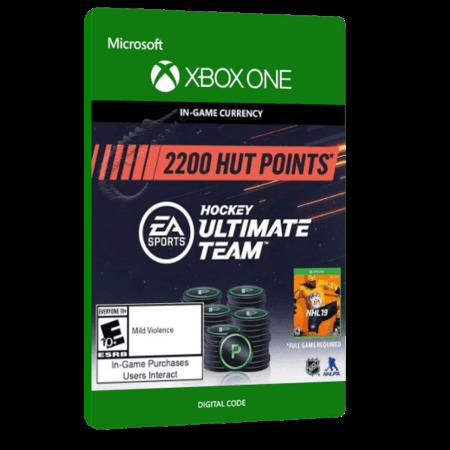 خرید بازی دیجیتال NHL 19 Hockey Ultimate Team 2,200 HUT Points برای Xbox One