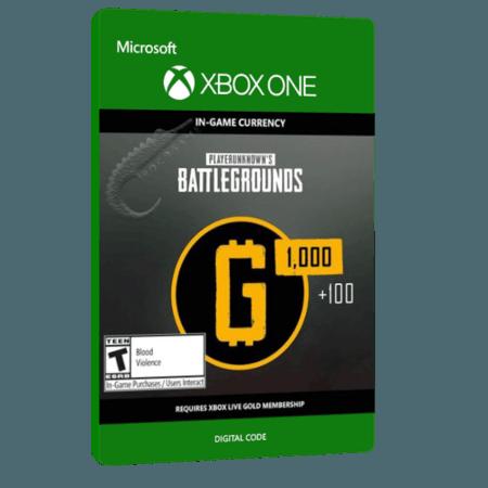 خرید بازی دیجیتال PlayerUnknown's BattleGrounds 1100 G-Coin Digital Token برای Xbox One