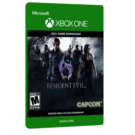 خرید بازی دیجیتال Resident Evil 6 HD برای Xbox One