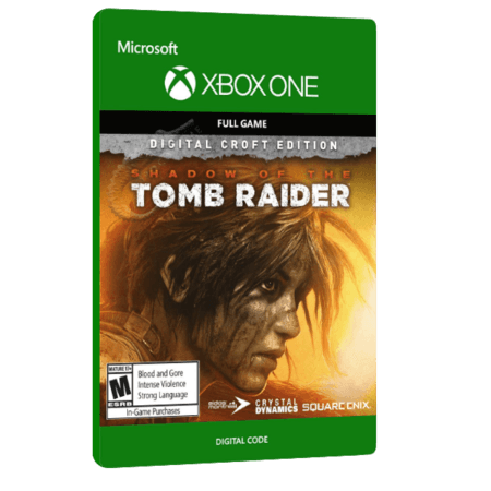 خرید بازی دیجیتال Shadow of The Tomb Raider Digital Croft Edition