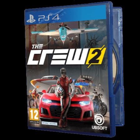 خرید بازی دست دوم و کارکرده The Crew 2 برای PS4
