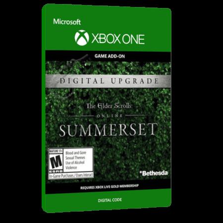 خرید بازی دیجیتال The Elder Scrolls Online Summerset Standard Edition Upgrade برای Xbox One