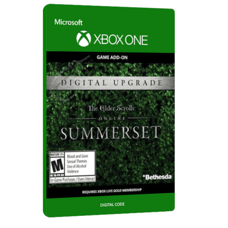 خرید بازی دیجیتال The Elder Scrolls Online Summerset Standard Edition Upgrade برای Xbox One