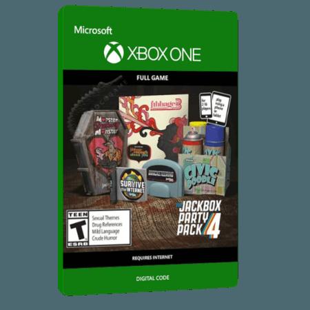 خرید بازی دیجیتال The Jackbox Party Pack 4 برای Xbox One