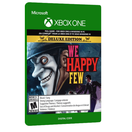 خرید بازی دیجیتال We Happy Few Deluxe Edition