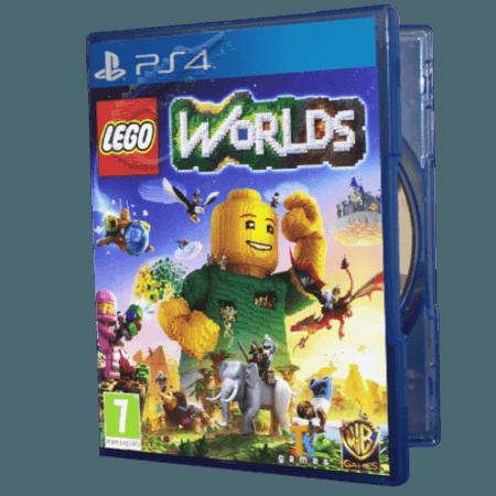 خرید بازی دست دوم و کارکرده Lego Worlds برای PS4