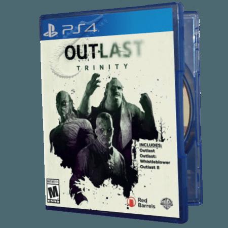 خرید بازی دست دوم و کارکرده Outlast Trinity برای PS4