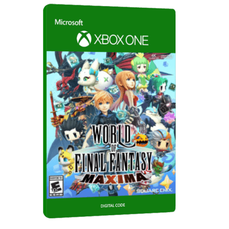 خرید بازی دیجیتال World of Final Fantasy Maxima