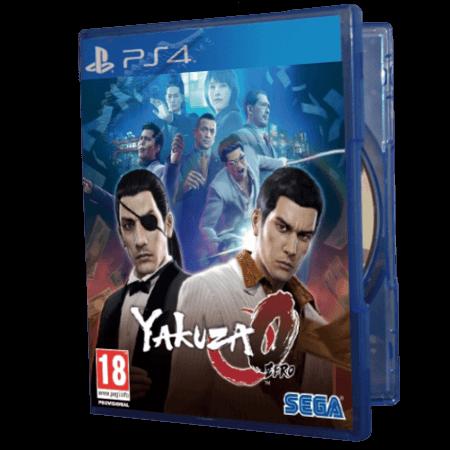 خرید بازی دست دوم و کارکرده Yakuza Zero برای PS4