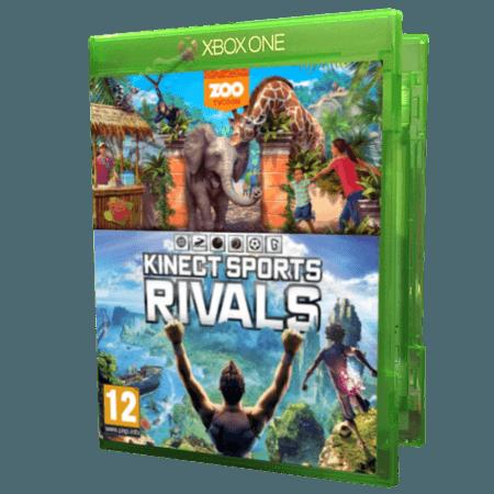 خرید بازی دست دوم و کارکرده Zoo Tycoon + Kinect Sports Rivals برای Xbox One