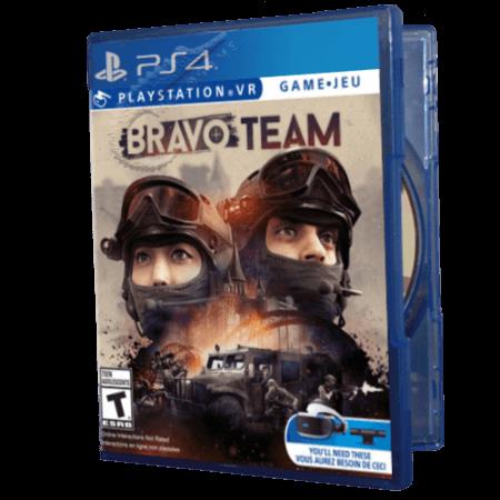 خرید بازی دست دوم و کارکرده Bravo Team برای PS4