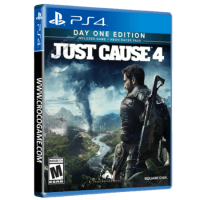 خرید بازی Just Cause 4 Day One Edition Includes Game + Neon Racer Pack برای PS4