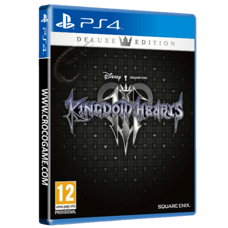 خرید بازی Kingdom Hearts 3 Deluxe Edition برای PS4