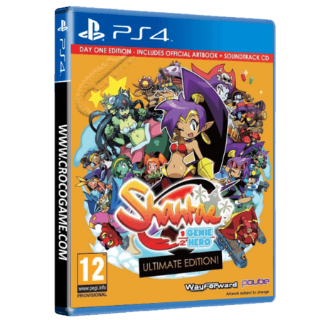 خرید بازی Shantae Half Genio Hero Ultimate Edition برای PS4