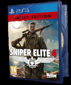 خرید بازی دست دوم و کارکرده Sniper Elite 4 Limited Edition برای PS4