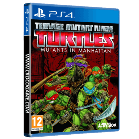 خرید بازی Teenage Mutant Ninja Turtles Mutants in Manhattan برای PS4