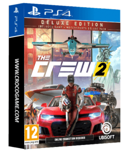 خرید بازی The Crew 2 Deluxe Edition Includes Game + Motorsports Deluxe Pack برای PS4
