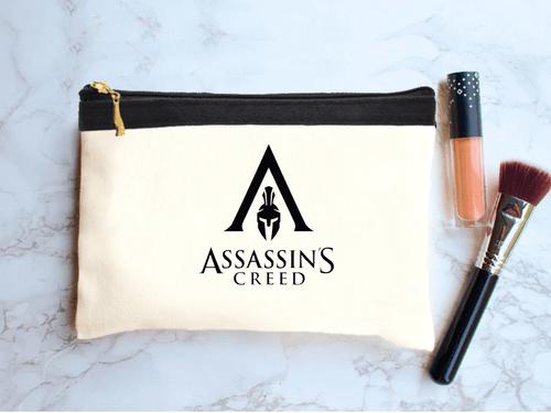 خرید کیف لوازم آرایش طرح اساسینز کرید