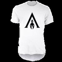 خرید تی شرت لانگ سفید طرح اساسینز کرید