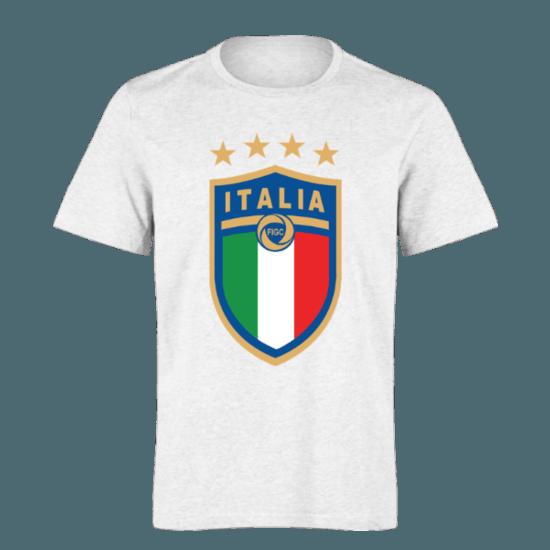 خرید تی شرت سفید طرح ایتالیا 1