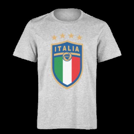 خرید تی شرت خاکستری طرح ایتالیا 1
