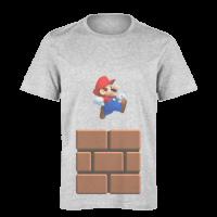 تی شرت خاکستری ماریو