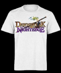 خرید تی شرت سفید طرح دان برک 1