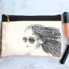 خرید کیف لوازم آرایش طرح دختر 1